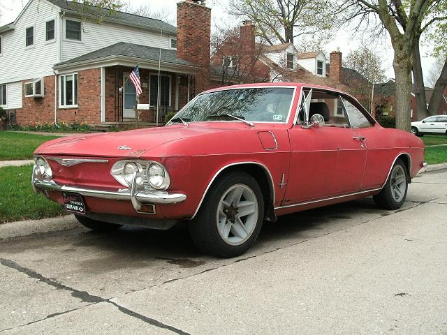 MissingParts 1965 Chevrolet Corvair