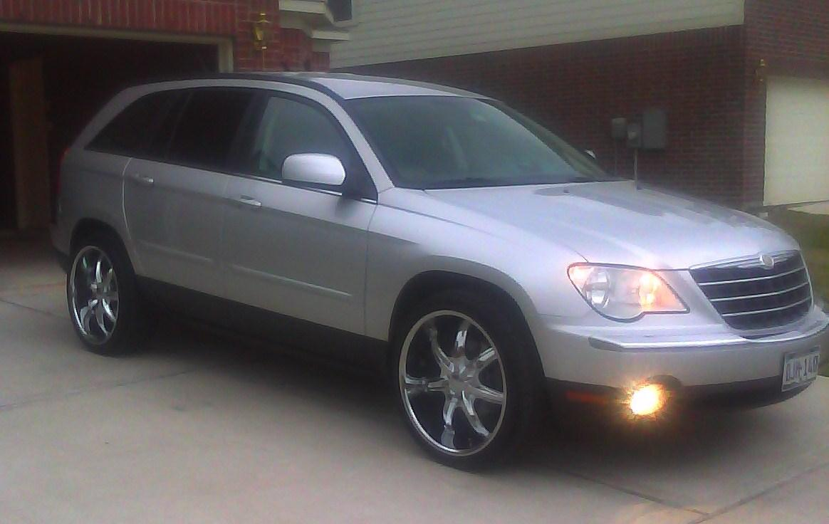 tdarrinboney s 2007 chrysler pacifica 2007 chrysler pacifica on 22 s. Cars Review. Best American Auto & Cars Review