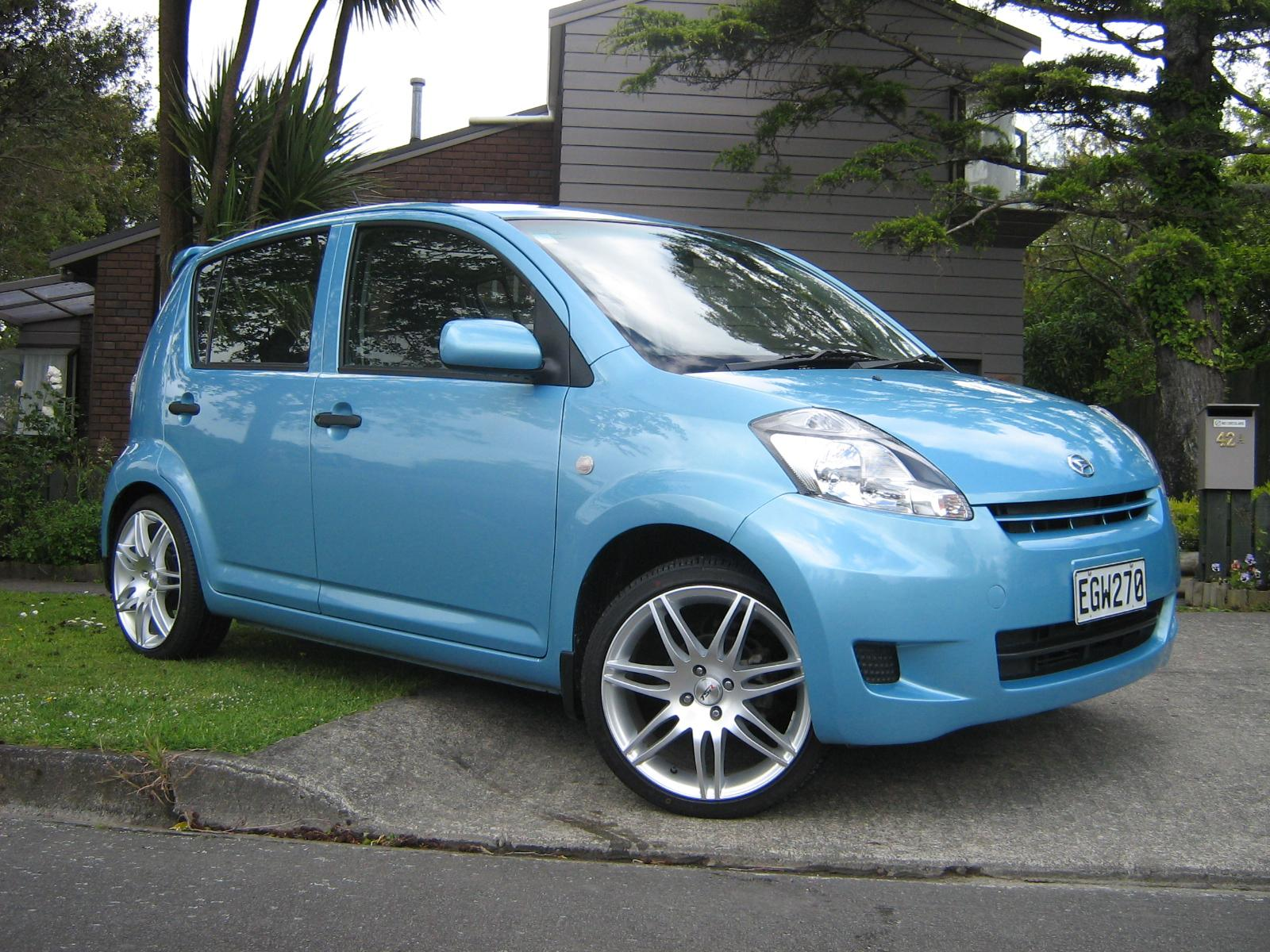 dwergie 2008 daihatsu sirion specs photos modification info at cardomain. Black Bedroom Furniture Sets. Home Design Ideas