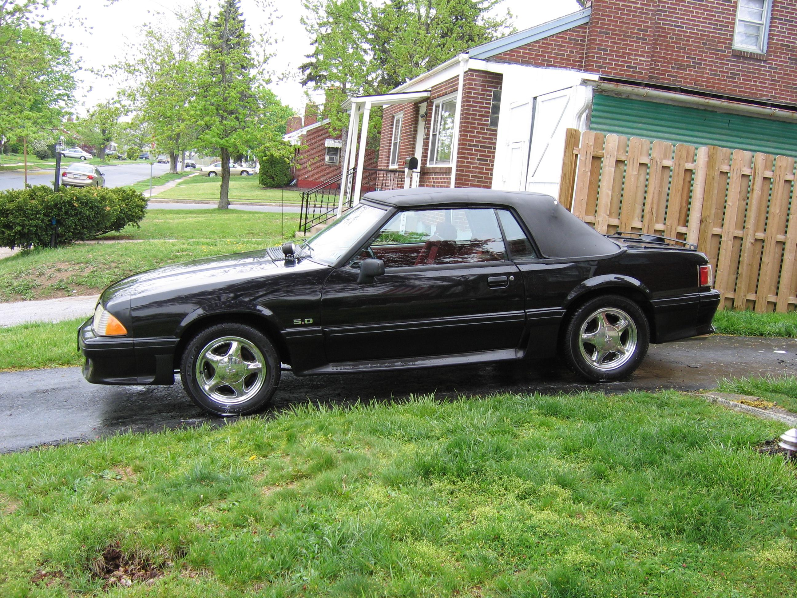 1sheltie 1990 ford mustanggt convertible 2d specs photos. Black Bedroom Furniture Sets. Home Design Ideas