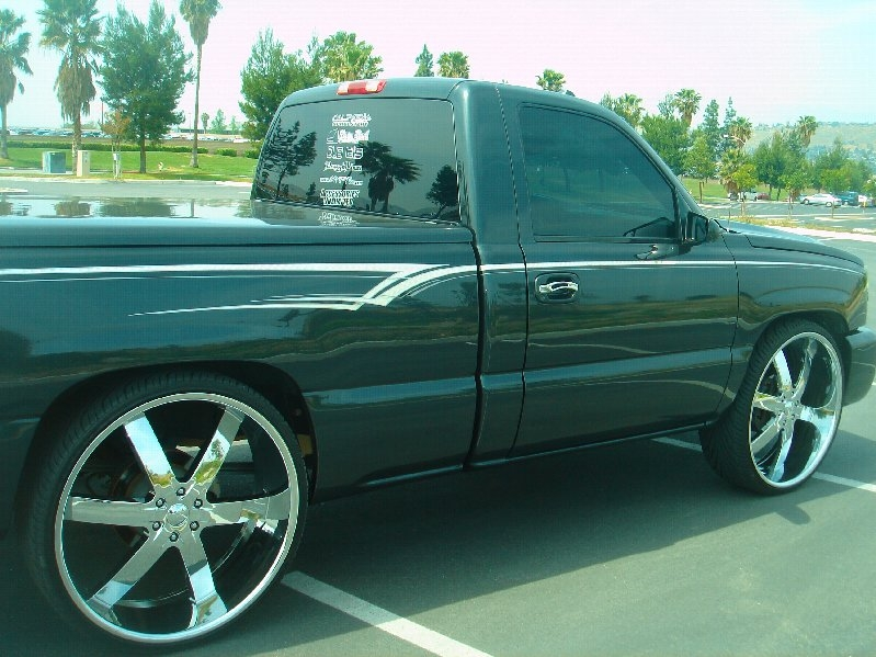 Question Biggest Rims I Can Fit On A 06 2wd Silverado Chevy