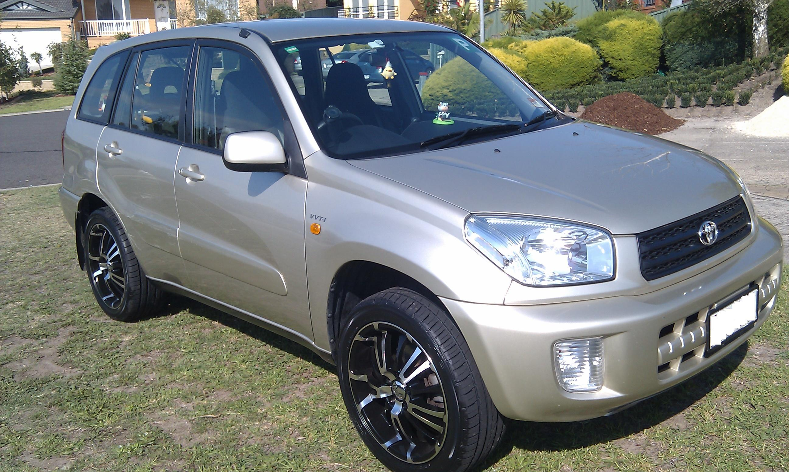 toyota rav4 2003 car - photo #22