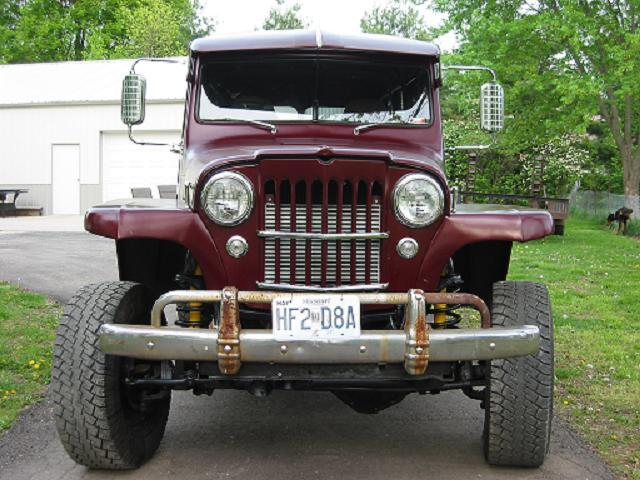 1longwagon 1953 Willys Wagon
