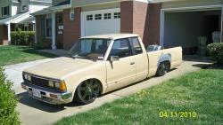 Drag720s 1985 Nissan 720 Pick-Up