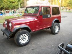 DD84CJ7s 1984 Jeep CJ7