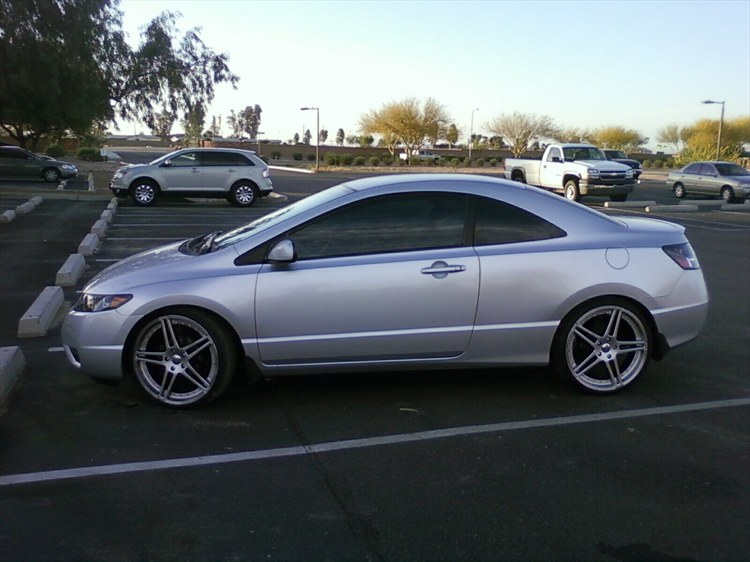 20 Inch Rims: Can You Put 20 Inch Rims On A Honda Civic