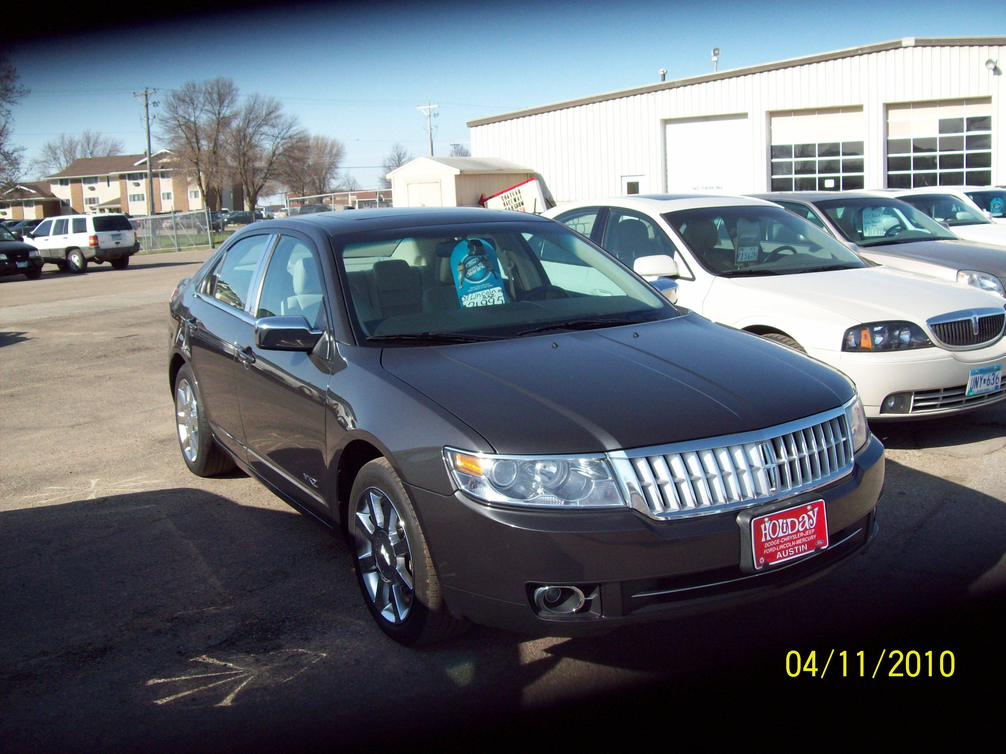 heathers04mali 2007 lincoln mkzsedan 4d specs photos. Black Bedroom Furniture Sets. Home Design Ideas
