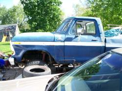 96whitesunfires 1978 Ford F250 Crew Cab