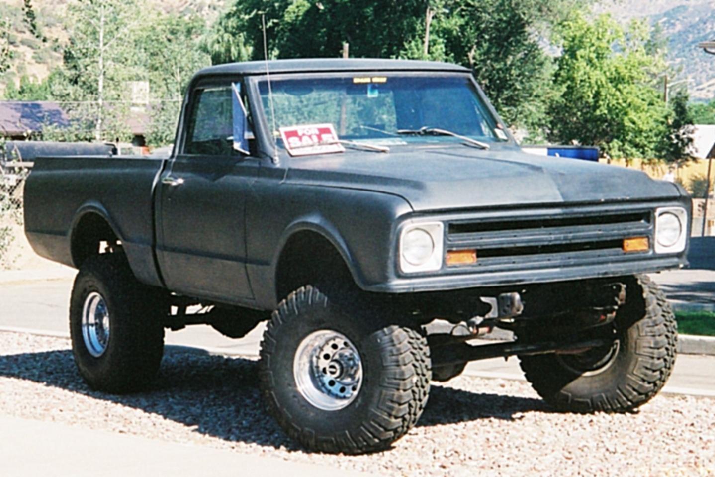 Another CHAPPYsteve 1969 Chevrolet 1500 Extended Cab post... - 14448582