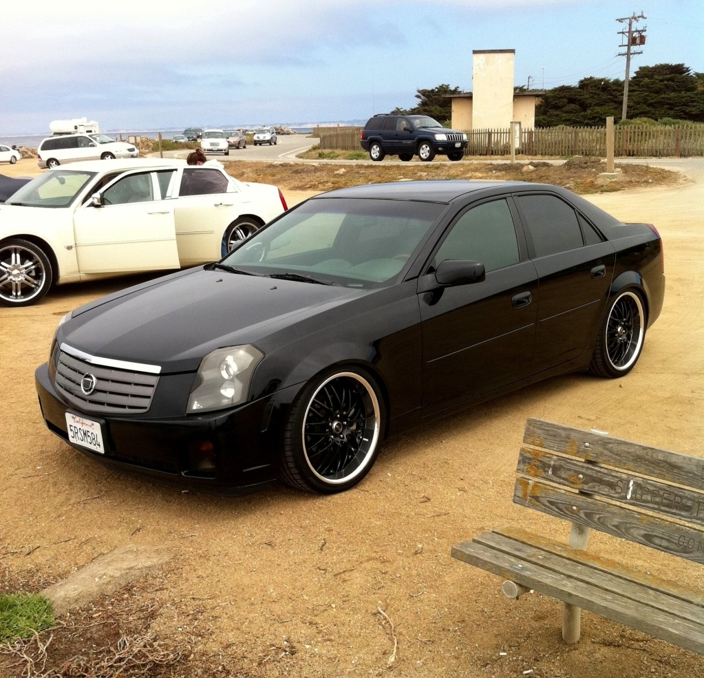 2010 Cadillac Cts Blacked Out