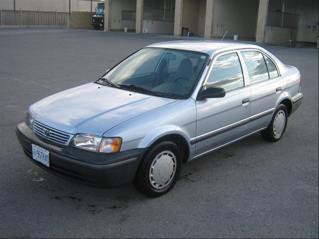 """1999 Toyota Tercel All Trims """"Wobbly"""" - Calgary, owned by ..."""