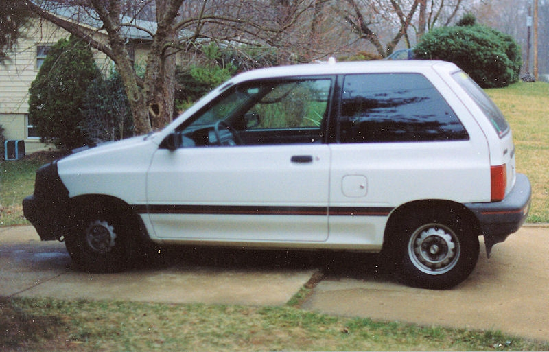 service manual how to remove 1988 ford festiva dashboard little car gets some tlc pt1 kia. Black Bedroom Furniture Sets. Home Design Ideas