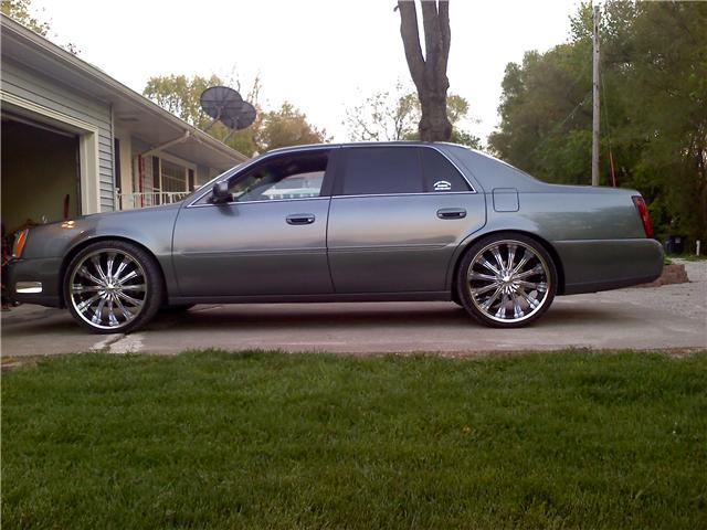2004 Cadillac DeVille On Rims