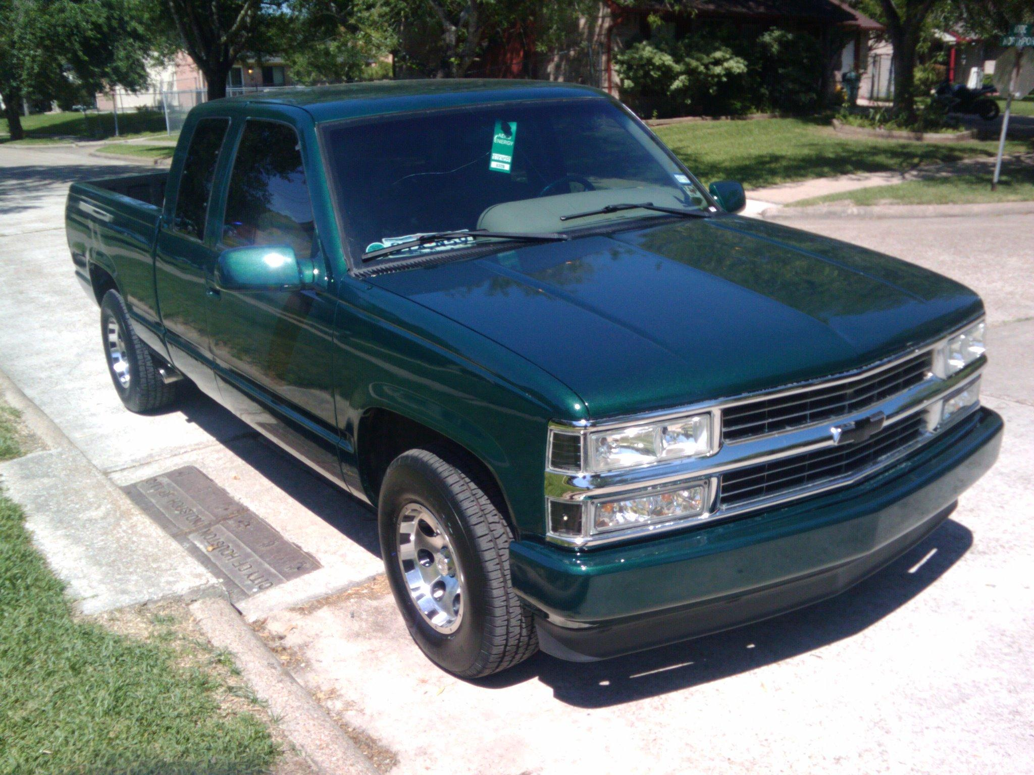 miklowar18 1995 chevrolet silverado 1500 extended cab. Black Bedroom Furniture Sets. Home Design Ideas