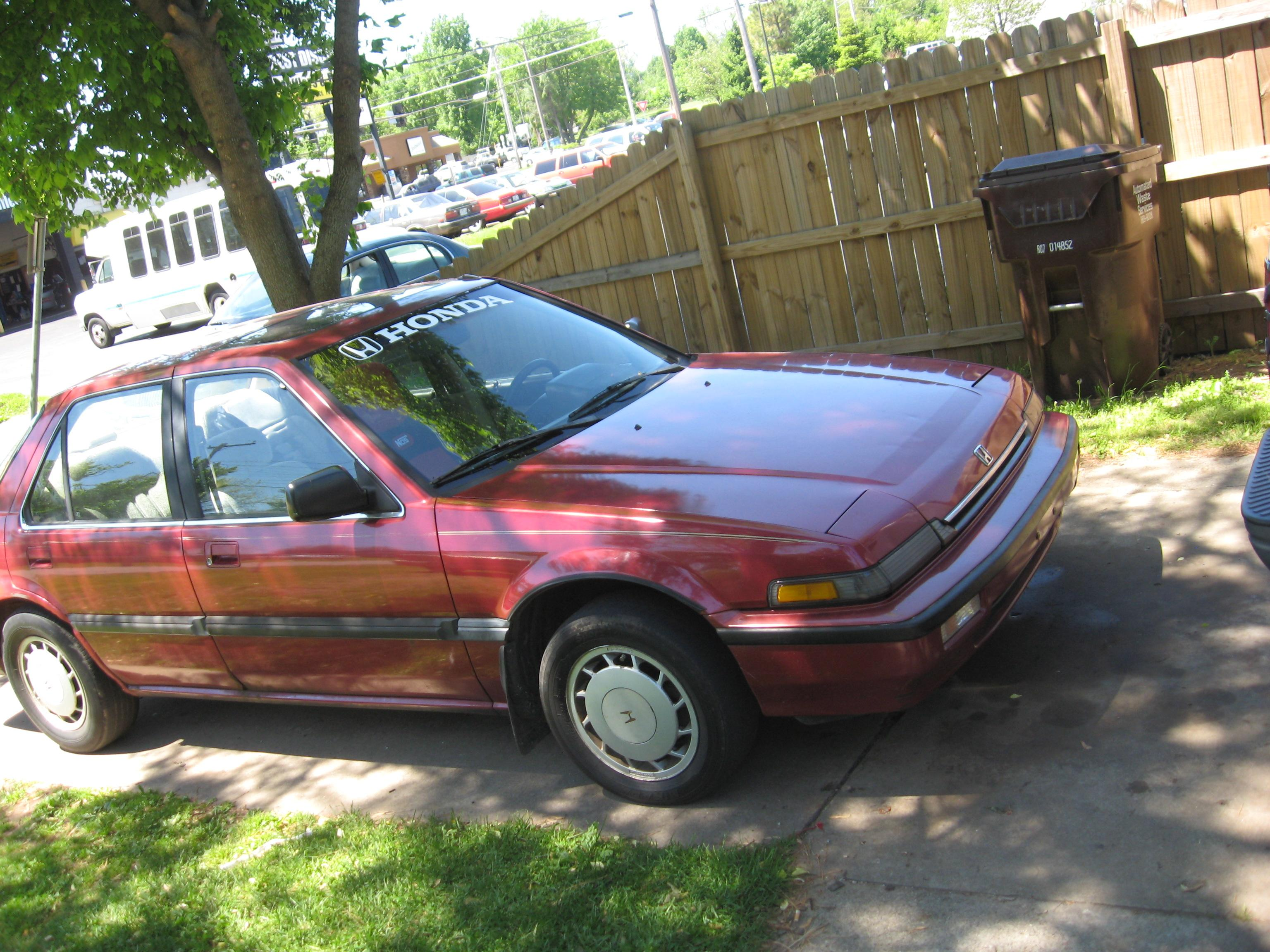 JesseyChatman's 1989 Honda Accord