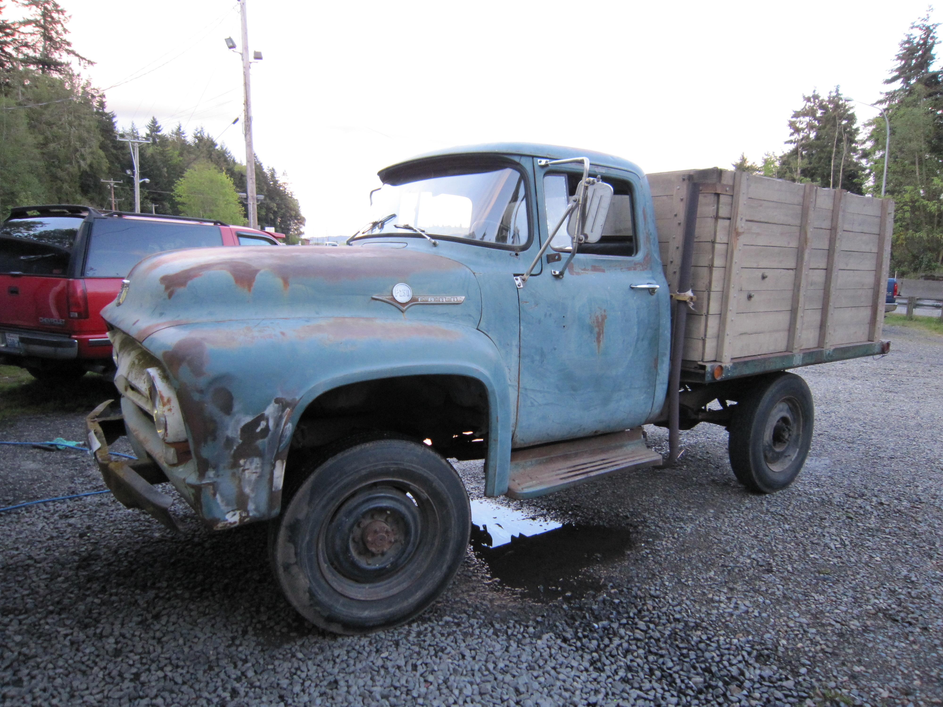 Another 56F2504x4 1956 Ford F250 Crew Cab post... - 14464335