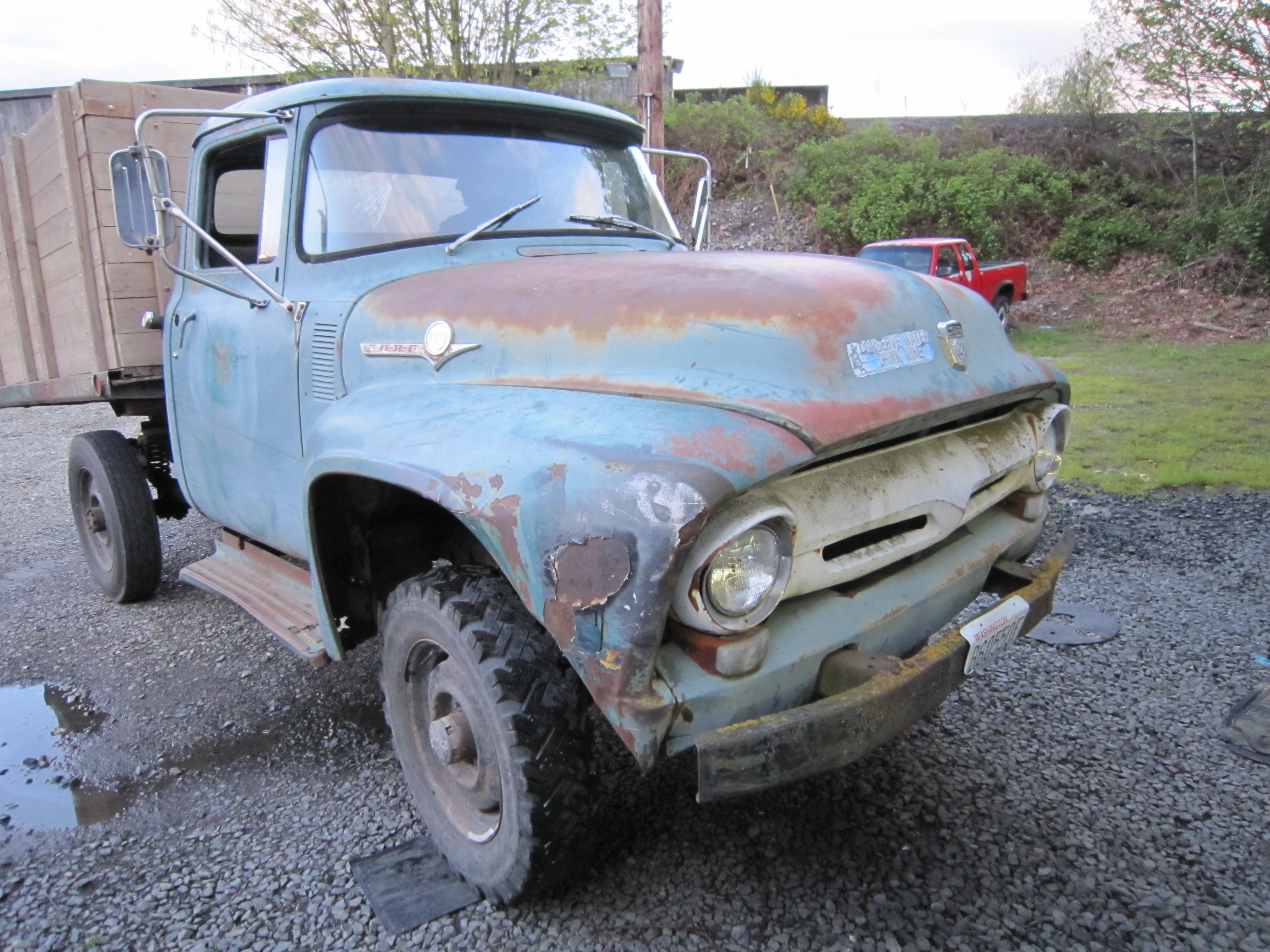 Another 56F2504x4 1956 Ford F250 Crew Cab post... - 14464336