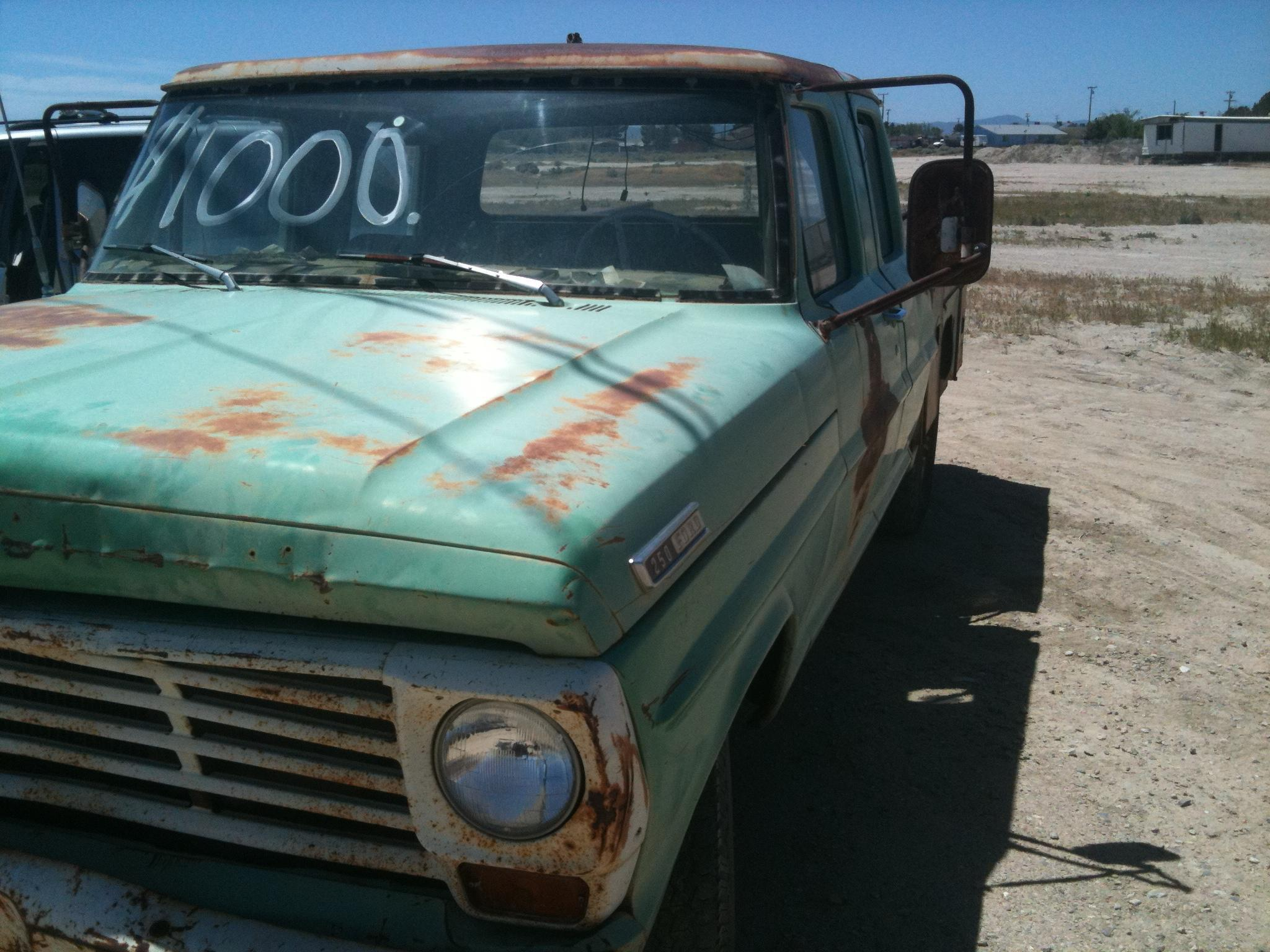 Another SoCalCraigster 1967 Ford F250 Crew Cab post... - 14465503