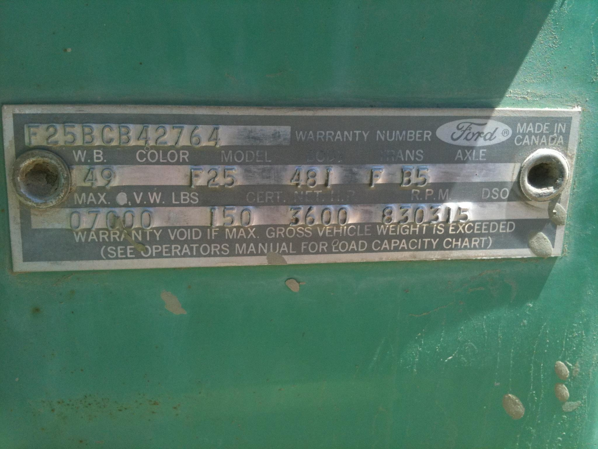 Another SoCalCraigster 1967 Ford F250 Crew Cab post... - 14465512