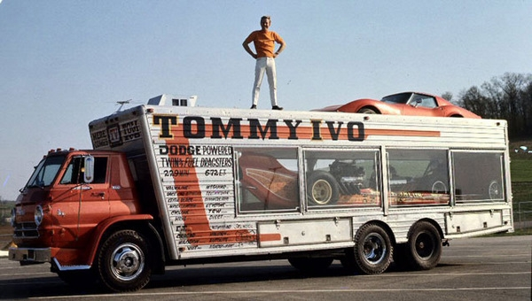 Tommy Ivo's Tow Rig History