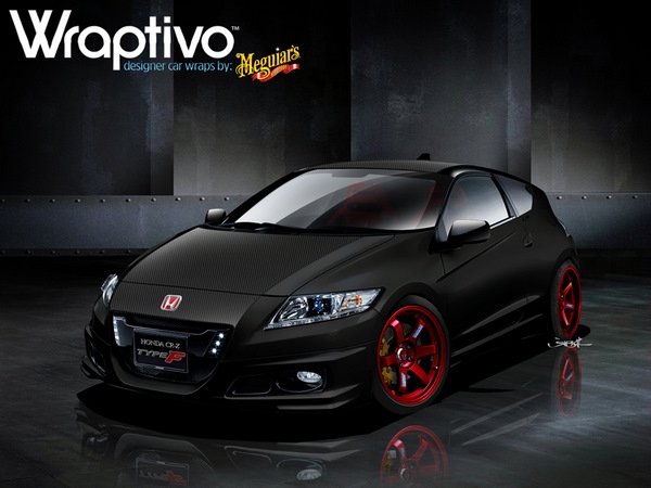 WRAPTIVO CR-Z Type F Headed For SEMA