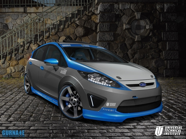 UTI Fiesta Headed to SEMA