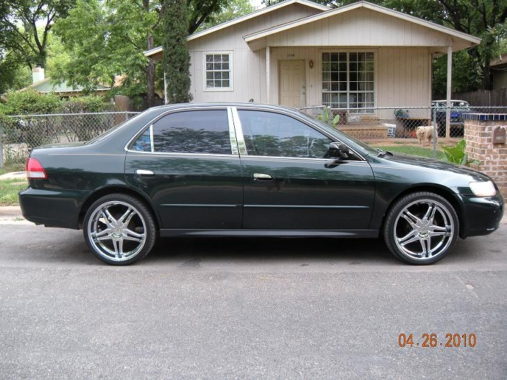my 2001 honda accord More she is my first car so you know i had to put ...
