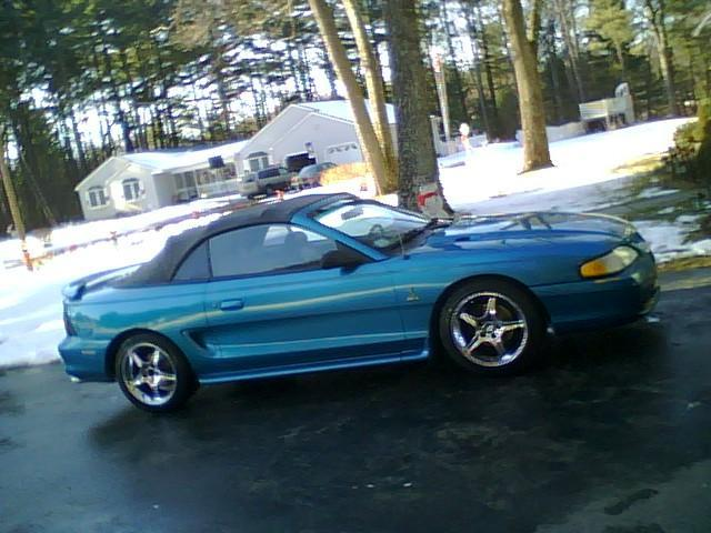 wecameasromanz 1995 Ford MustangGT Convertible 2D Specs Photos