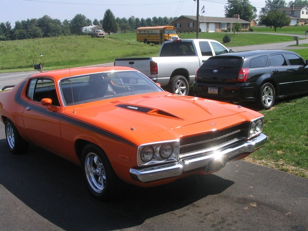 Another hotrod7 1973 Plymouth Roadrunner post... - 14482373