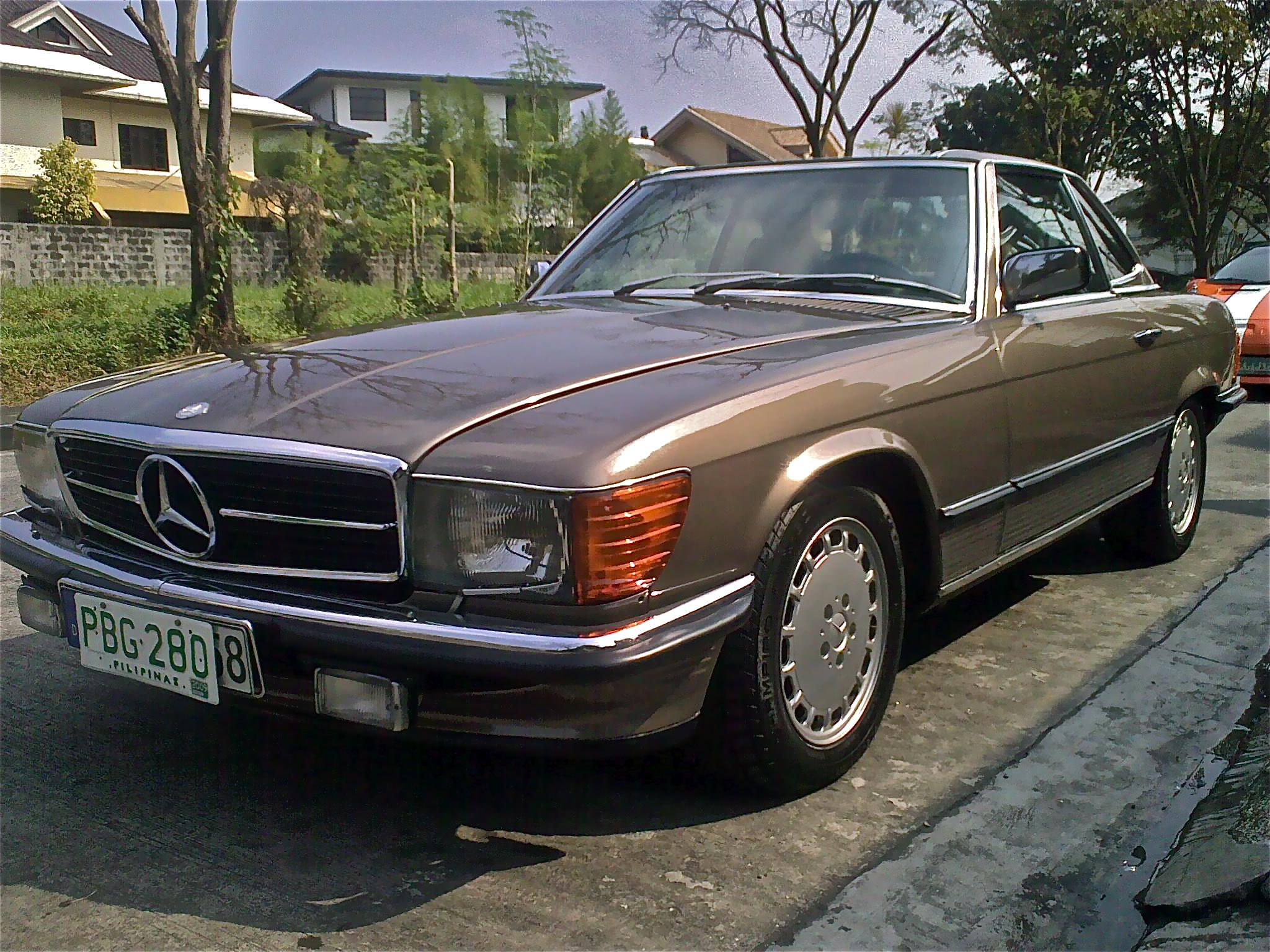 izzodesh 1989 mercedes benz 560sl specs photos