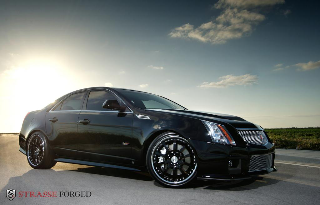 strasse forged 39 s 2009 cadillac cts in miami fl. Black Bedroom Furniture Sets. Home Design Ideas