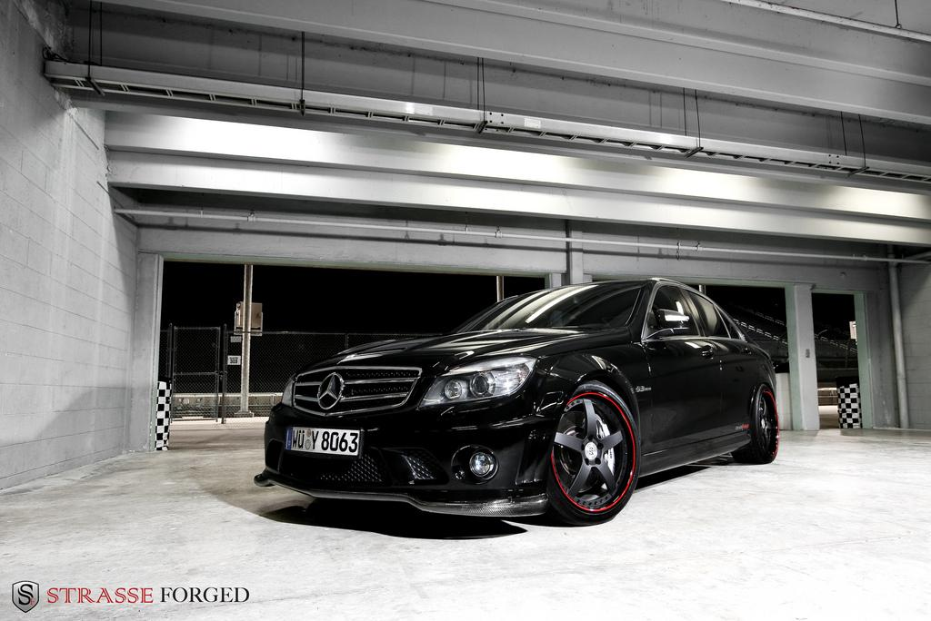 Strasse_Forged 2009 Mercedes-Benz C-ClassC63 AMG Sedan 4D Specs