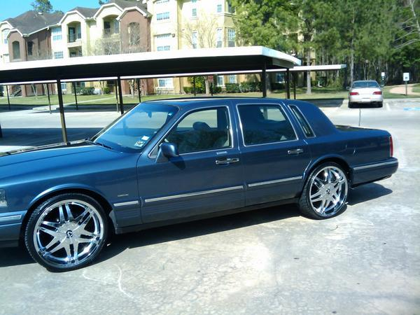 C Los713 1996 Lincoln Town Car Specs Photos Modification Info At