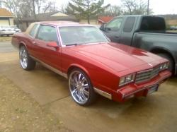 CandyAppleRed20s 1986 Chevrolet Monte Carlo