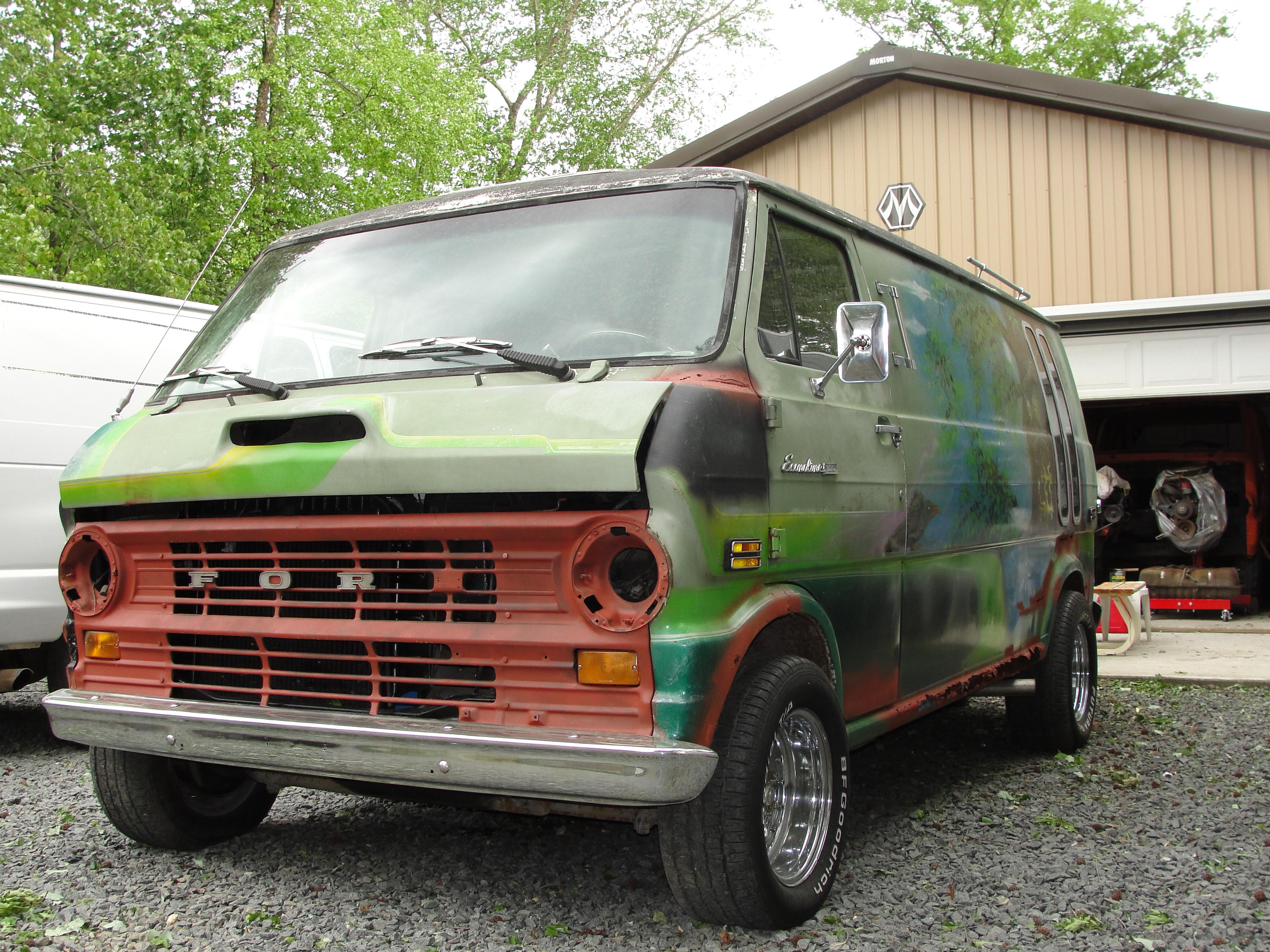 slasheye420 1970 ford econoline e150 passenger specs photos modification info at cardomain. Black Bedroom Furniture Sets. Home Design Ideas