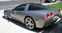 08AccordTLs 2001 Chevrolet Corvette
