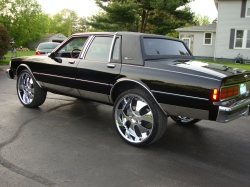 87boxridahs 1987 Chevrolet Caprice Classic 