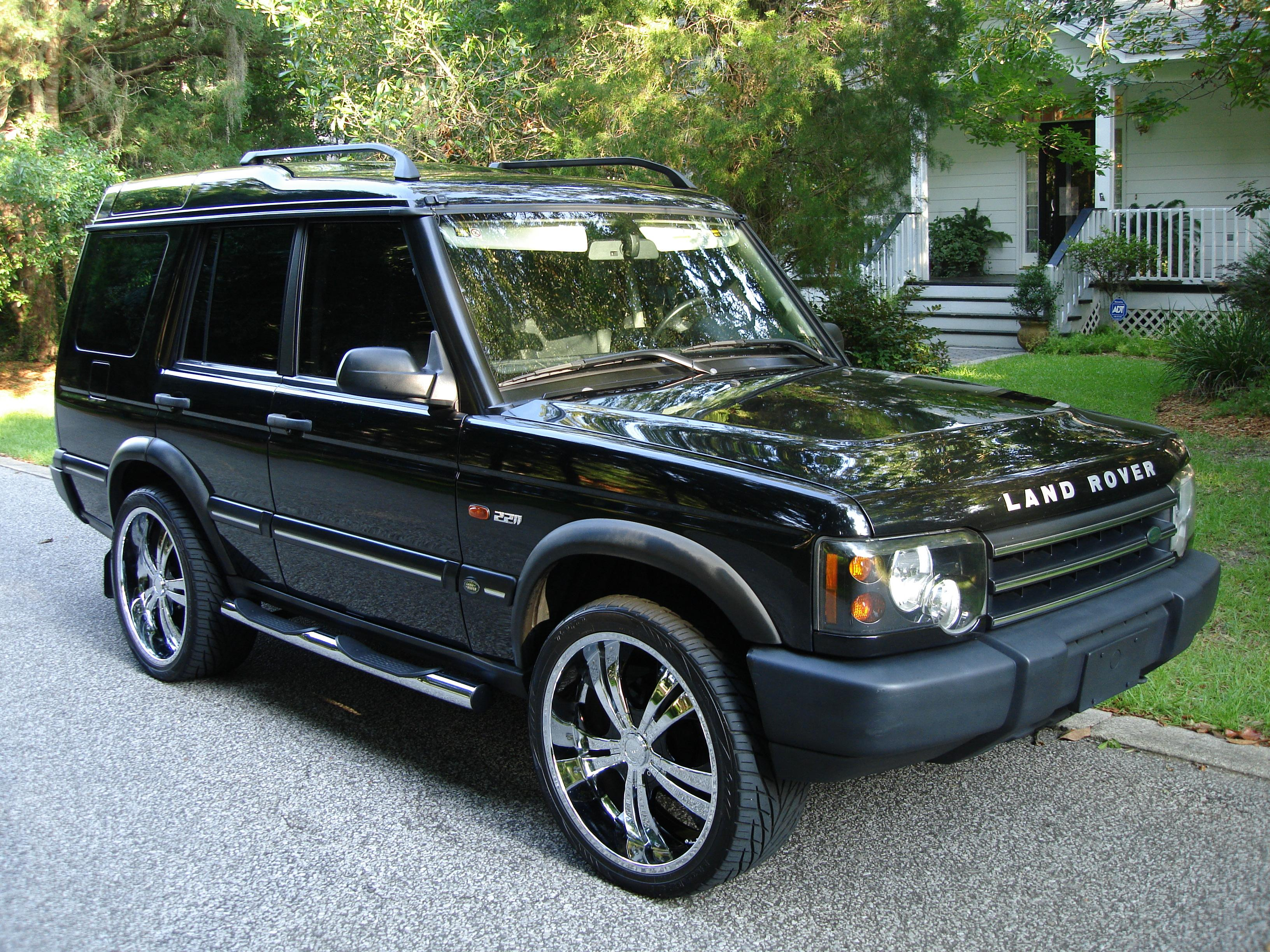 eccwkingofbling 2004 land rover discovery specs photos modification info at cardomain. Black Bedroom Furniture Sets. Home Design Ideas