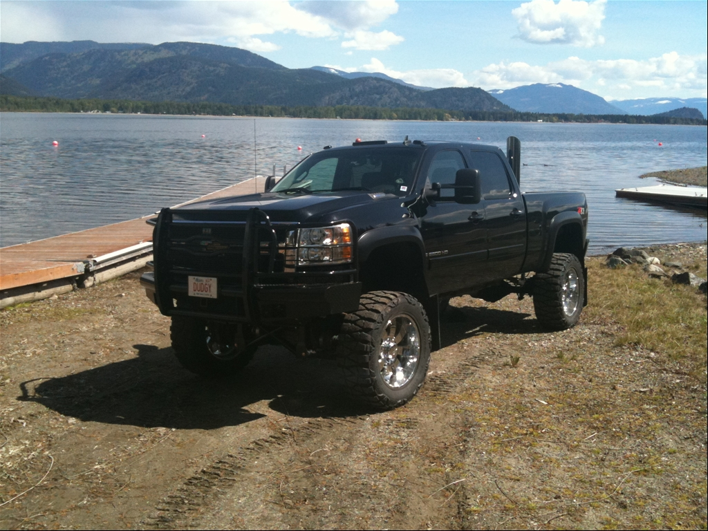 "2008 Chevrolet Silverado 2500 HD Crew Cab ""DUDGY"" - owned by"