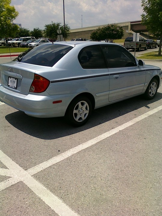 libraboy4 39 s 2005 hyundai accent in keller tx. Black Bedroom Furniture Sets. Home Design Ideas