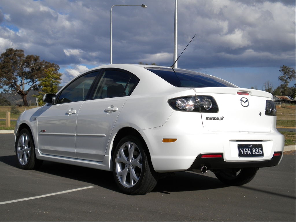 antony 89 39 s 2008 mazda mazda3 in canberra. Black Bedroom Furniture Sets. Home Design Ideas