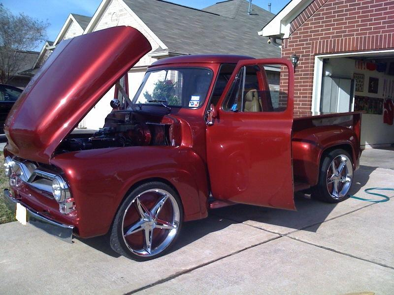 Ford Shelby Truck >> ELMOK 1955 Ford F150 Regular Cab Specs, Photos, Modification Info at CarDomain
