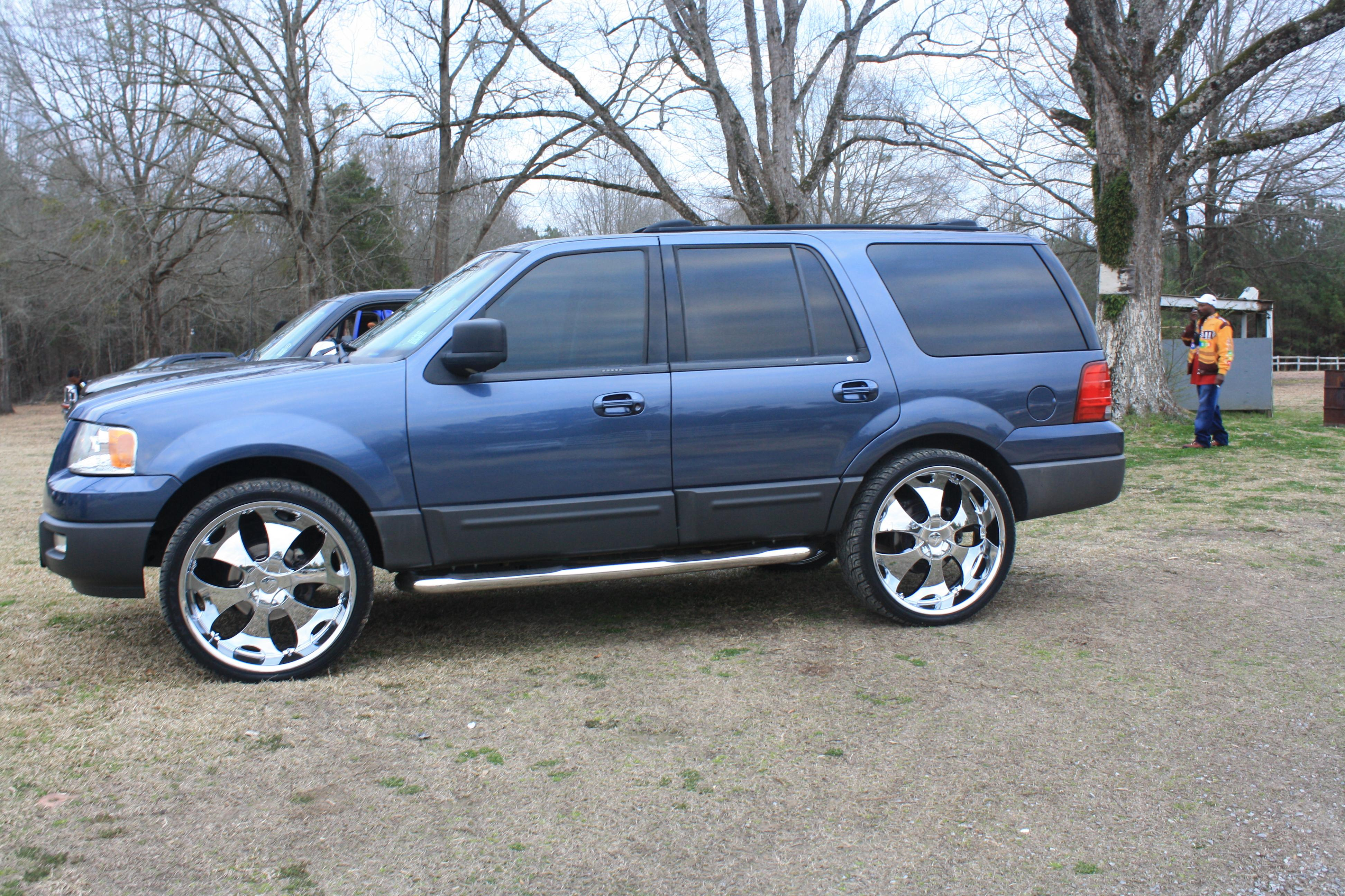 Blue ex on 26's