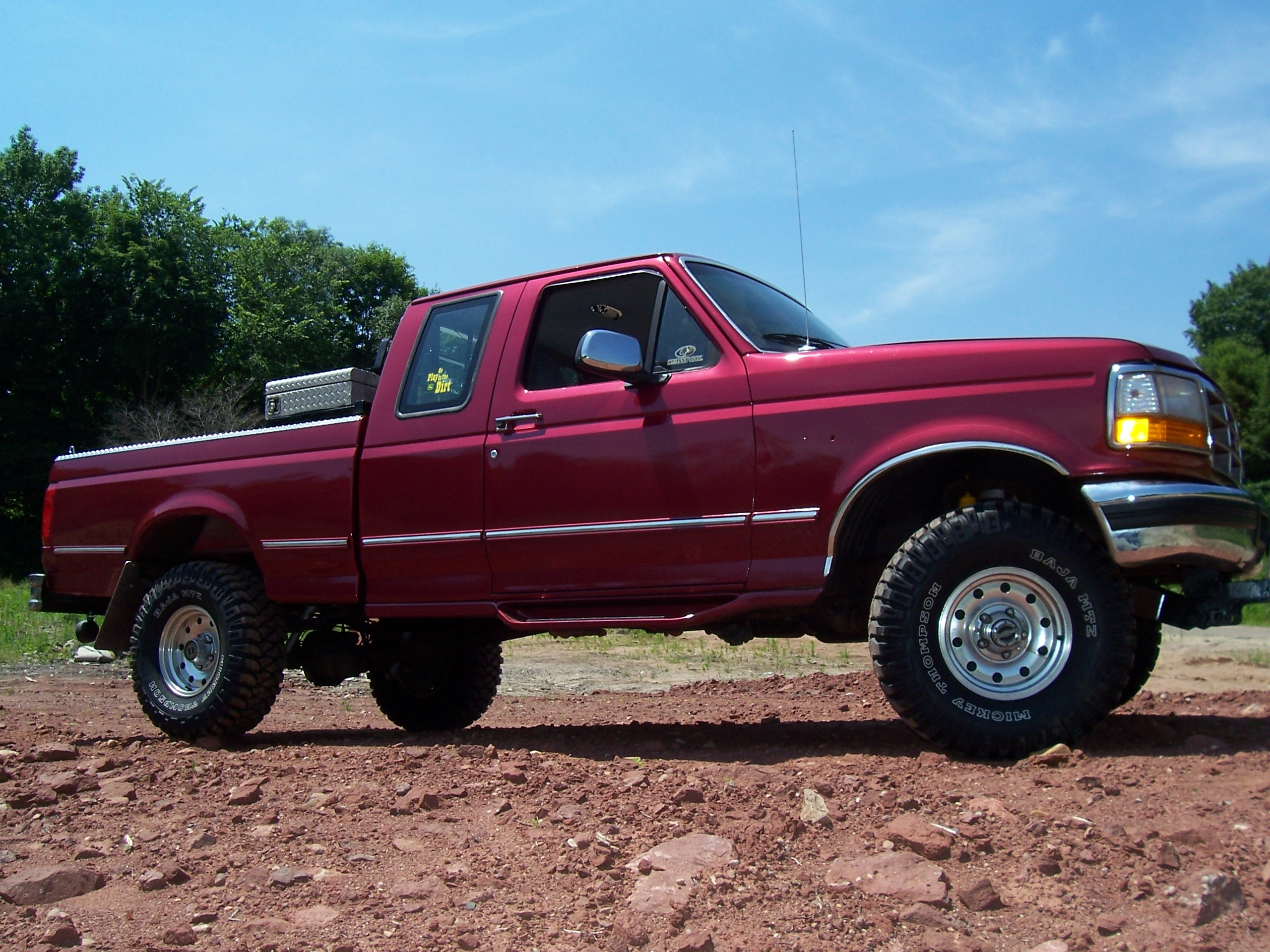 F150 Bed Dimensions >> 1995 Ford f150 short bed