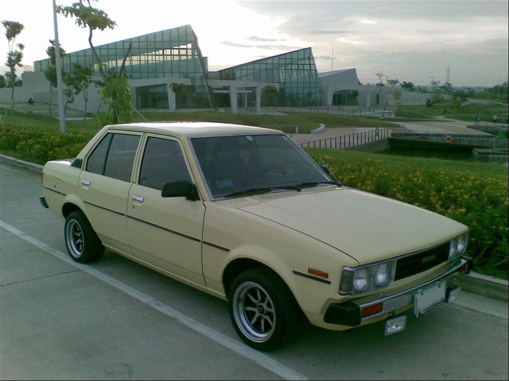 pin 1980 toyota corolla dx ke70 santa rosa city owned on pinterest. Black Bedroom Furniture Sets. Home Design Ideas