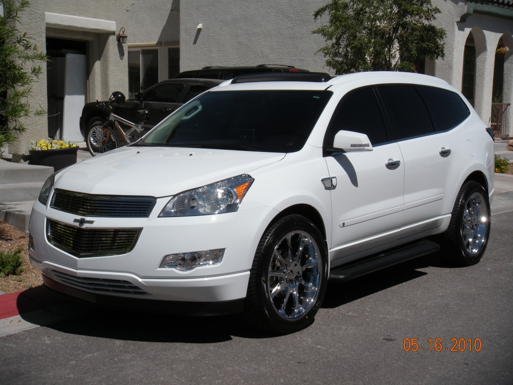 jazzie27 2009 Chevrolet Traverse Specs, Photos ...