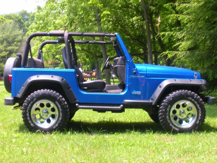 The most current pic of your topless Jeep! - Page 13