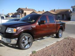 chuation's 2006 Ford F150 SuperCrew Cab