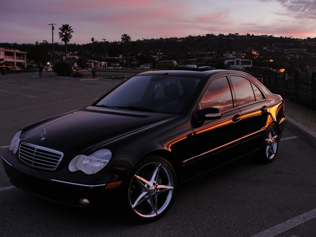 6speedpaz 2004 mercedes benz c classc230 sport sedan 4d specs photos modification info at. Black Bedroom Furniture Sets. Home Design Ideas