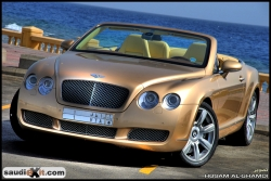 Saudi_Exits 2007 Bentley Continental GT